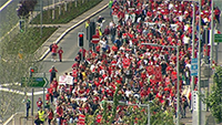 Rally in Belfast