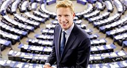 Jan Huitema at the European Parliament