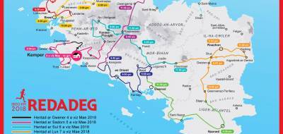 Ar Redadeg, Breton language relay race